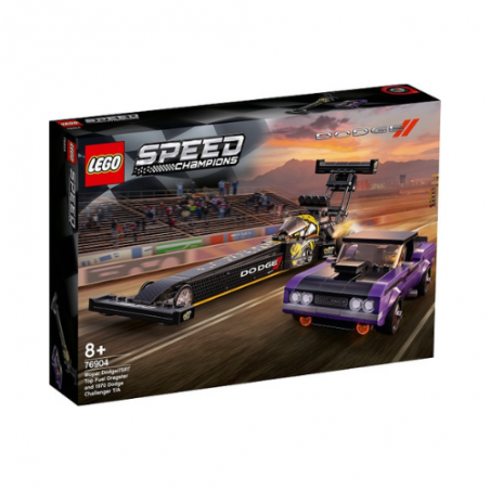 Lego Speed Champions Mopar Dodge Dragster And 1970 Challenger 76904