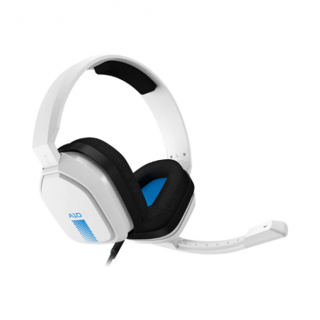 Astro A10 Wired Gaming Headset (White/Blue) LAA10WB