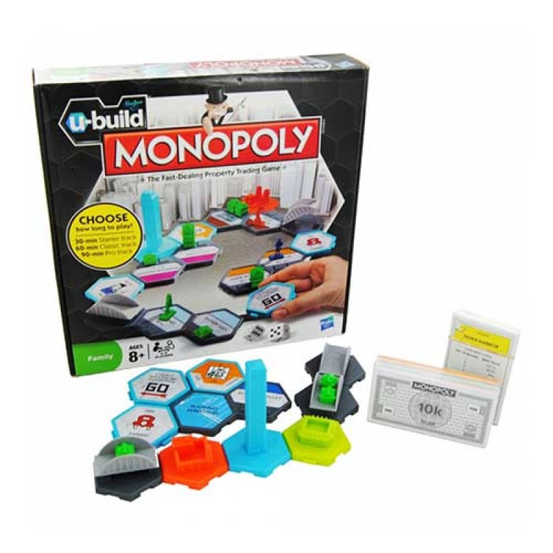 U-Build Monopoly Board Game - G4475