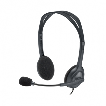 Logitech Stereo Headset with Microphone H111