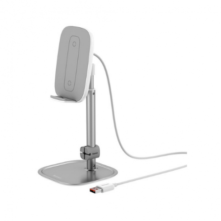 Baseus Mobile Support Base with Wireless Charger SUWY-DOS